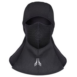 face mask fleece cover Promo Codes - New Winter Cycling Face Mask Warm Fleece Bike Hiking Full Face Cover Mask Ski Snowboard Hook Neck Scarf Windproof Facemask