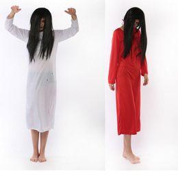 2019 красные костюмы дьявола женщины призрак Хэллоуин Мантия для женщин страшного дьявола вампир Хэллоуин черных и красных Вампиры Необычных платьев w1872 скидка красные костюмы дьявола женщины