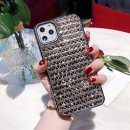 Premium design di lusso pieno di diamanti cassa del telefono del strass Scratchproof Skidproof Defender per l'iPhone 11 Pro X Xr Xs Max 6 7 8 più da casi di colore iphone 5c fornitori