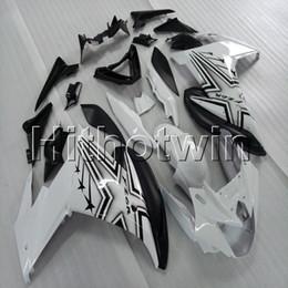 Черный обтекатель yamaha fz6r онлайн-23colors + Botls черный белый мотоцикл обтекатель для Yamaha FZ6 FZ6R 2009-2010 ABS Мотоцикл обтекатель