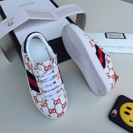 Zapatos de alas para niños online-Zapatillas de deporte para niños Zapatillas de diseñador para niños Zapatos de bebé para niños Zapatillas de invierno para niños y niñas Marca de moda para niños 2018 Ala infantil de niña Calzado informal para niños