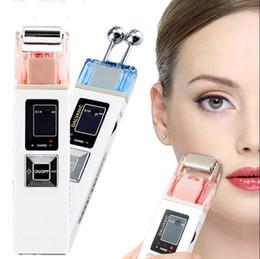 Microcorrente Ferramenta de Elevação de Massagem Facial Iontoforese Máquina Reafirmante Da Pele Iontoforese SPA Salon Ferramenta de Beleza frete grátis de Fornecedores de máscaras eva