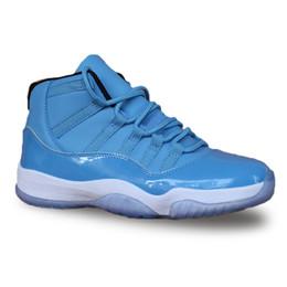 Argentina 2018 Nuevo 11 11s zapatos de baloncesto azul Tinker Alternativo Olímpico Liebres Burdeos Cigar moda de lujo para hombre mujer diseñador sandalias zapatos HY supplier women new blue sandals shoes Suministro