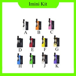 Canada Kit de cartouches d'huile épaisse d'origine Imini avec boîte 500mAh Batterie Mod Mod 510 fil Liberty V1 Cartouches Wax Atomizer vapeurs de stylo de vaporisation 0268073-1 Offre