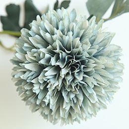 decorações para festa de jardim Desconto Flor artificial de casamento dandelion bola-flor falso flor home garden party decoração de tecido