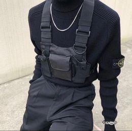 2020 militär radio walkie talkie Tactical Vest Nylon militärische Weste Brust rig Pack-Beutel-Pistolenhalfter Tactical Harness Walkie-Talkie-Radio Hüfttasche für Zweiwegradio günstig militär radio walkie talkie
