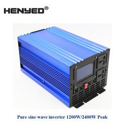 Ventilateurs de refroidissement pour inverseur en Ligne-1200W Pure Sinewave Power Inverter puissance continue 2400W puissance continue 12V ac 220V 50hz Grand ventilateur de refroidissement