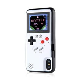 Консольная игра тетрис онлайн-Ретро ГБ Gameboy Tetris Чехлы для телефонов для iPhone 6 6s 7 8 Plus Soft TPU Может играть Blokus Крышка игровой консоли для iPhone X XS XR Max