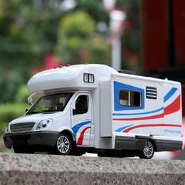 porta traseira aberta Desconto Simulação Liga Modelo de Carro Puxar Para Trás Do Carro Porta Aberta de Luxo Big Touring Diecast 1:32 Modelo de Viagem Da Família Brinquedos para crianças