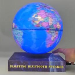 Drahtlose Bluetooth Lautsprecher des freien Verschiffens Maglev, die Kugel 6inch mit bluetooth Sprecher schwimmen und drehen von Fabrikanten