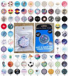 Colchetes altos on-line-Alta Qualidade Universal Air Bag Grip Suporte Do Telefone Celular Suporte Suporte Com Pacote Azul 4.000 Padrões Expansível Suporte Do Telefone