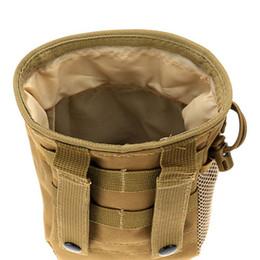 mayoristas de paquetes de alimentos Rebajas Molle militar paquete de la bolsa de munición Tactical Gun Revista Dump Drop Reloader bolsa de la bolsa Utilidad de caza del rifle de la revista Revista lp0114 al aire libre