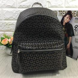Canada Mode Femmes marque sac à dos en cuir PU sacs à bandoulière mini sac simple sac de loisirs deux couleurs noir / brun foncé livraison gratuite Offre
