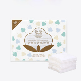 Nettoyage démaquillant d'eau en Ligne-Xiaomi youpin SIMFUN 180pcs pack Soft Cotton Pads Makeup Cotton Save Water Skin Care Makeup Remover Tool Cleansing Wipes Nail Art Pads A5