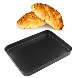 2019 einweg-kuchen dosen Backblech Küche Pfanne Antihaft Backen Rechteck Kuchen Multifunktionales Kochwerkzeug