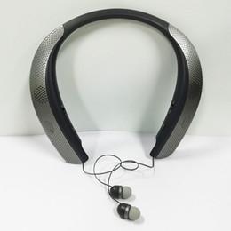 2019 lg tones bluetooth headset Tone Studio Bluetooth Kopfhörer mit Nackenbügel mit Audio Aktiviert Erfahrung Personal Surround Sound Tauch TM LG-HBS-W120-V1 Schiff frei rabatt lg tones bluetooth headset