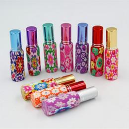 2019 perfume de vidro fimo 10 ml Garrafas de Perfume De Barro Argila Fimo Frasco De Perfume Garrafa De Perfume Vazio Caso Argila Frasco De Perfume De Vidro desconto perfume de vidro fimo