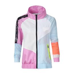 Модные женские дизайнерские куртки NK с длинным рукавом с цветными панелями весна-осень cheap nk coat от Поставщики нк пальто