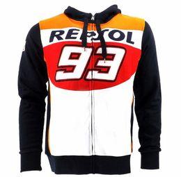 Wholesale Мотоцикл теплый свитер с капюшоном Открытый езда гоночный костюм удобная повседневная куртка