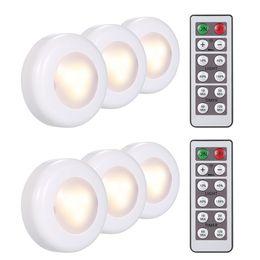 Wireless LED sotto l'armadietto del sensore della lampada si illumina Puck Luce per armadio armadio armadio letto Cucina cassetto Librerie da