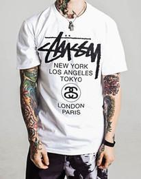 Styles de vêtements de sport pour hommes en Ligne-Vêtements Marque New Men's Clothing Mode Street Style Hommes Sport Designers Hommes Tees Casual T-Shirts À Manches Courtes MT10-13