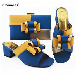1b8cd6127fb54 2019 sac à chaussures jaune Nouveau modèle italien de chaussures et de sacs  italiens jaunes et