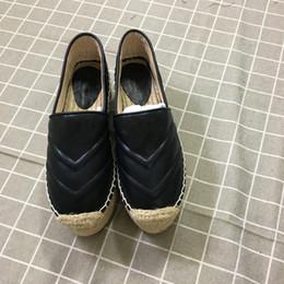 2020 la signora colora le scarpe 4 colori Fashion Designer Scarpe da donna Ladies Comode scarpe con plateau Espadrillas Designer Espadrilla Heel Altezza 5.5 Cm Taglia 35-40 la signora colora le scarpe economici