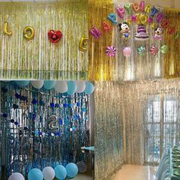 Decorazioni porta oro online-Tenda per porte colorate Tende per feste Foil Kids Cartoon Animal Galleggiante per palloncini Decorazione per feste di compleanno