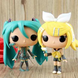 boneca vocaloid miku hatsune Desconto Lowprice Funko POP Vocaloid-Hatsune Miku Figura de Ação de Vinil Com Caixa # 37 # 39 Presente Boneca de Brinquedo Frete Grátis