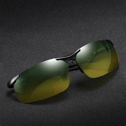 2019 anti-glare-gelbe polarisierte sonnenbrille Coolsir-N3009 Vintage Sport Gelbe Sonnenbrille Polarisierte Blendschutzlinse Männer Nachtsicht Brille Auto Brille Fahren Sonnenbrille günstig anti-glare-gelbe polarisierte sonnenbrille