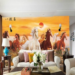 Stupendous New Eight Horse Marble 3D Tv Background Wall Wallpaper Office Background Living Room Sofa Background Wallpaper Eight Horses Onthecornerstone Fun Painted Chair Ideas Images Onthecornerstoneorg