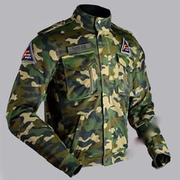 Chaqueta de malla de moto xl online-Nuevo diseño de motocicleta de verano de flujo de aire de malla chaqueta militar del ejército camo