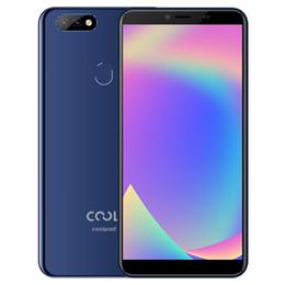 2019 coolpad handys Ursprüngliches Coolpad Cool Play 8 Lite 4G LTE Handy 3 GB RAM 32 GB ROM MT6739 Quad Core 6,0 Zoll Vollbild 13MP Fingerabdruck ID Handy