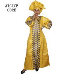 edles königliches kleid Rabatt 2019 afrikanische bazin riche Stickereientwurf afrikanische Kleider für Frauen dashiki traditionelle Kleidung langen Kleid A242 #