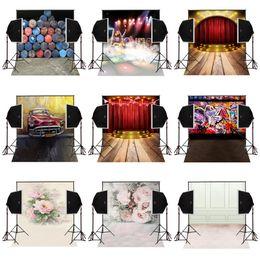 Arrière-plans de photographie personnalisée vinyle prop en Ligne-Personnalisé 5X7FT scène musicale performance vinyle photographie toile de fond photo fond numérique studio de musique prop comunion decoracion pour la fête
