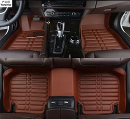 Alfombrillas para kia online-coche tapetes de cuero para el Kia Optima Kia K5 Jf 2016 2017 2018 alfombrilla de coche auto-estilo personalizado