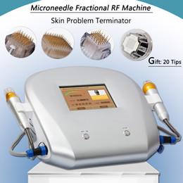 Máquina galvanica de cara online-rf fraccional de microagujas Machine aguja micro fraccional de microagujas cara galvánica de elevación rf equipo de eliminación de las estrías