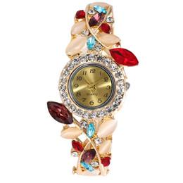 volle kristallfrauenuhren Rabatt Frauen Runde Voller Diamanten Armbanduhr Analog Quarzwerk Armbanduhr Kristall Edelstahl Analog Quarz Handgelenk