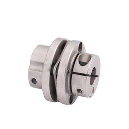D39mm L34mm liga de alumínio Coupling Quatro parafuso diafragmas engate fixo Dropshipping 6 / 9,525 / 10/11/12 milímetros de