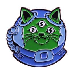 Blaue brosche stifte online-Astronautenstift blaues Sturzhelmuniversum der Astronautenschmucksachewissenschaftswissenschafts-Nerdgeschenk des niedlichen Astronautenstift blauen kreativen Rucksackdeko