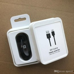 оригинальный кабель для передачи данных samsung Скидка Оригинальный S9 S8 USB Type-C 1.2M кабель для быстрой передачи данных для обмена данными Для S8 Note 7 8 S9 plus с пакетом