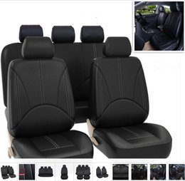 Tremendous Pu Leather Car Seat Covers Four Seasons All Purpose Waterproof Dust Proof Available For Most Five Seater Cars Automobile Interior Fittings Machost Co Dining Chair Design Ideas Machostcouk