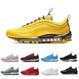 newest 74912 75eb7 2019 neue ankünfte schuhe mann Nike Air Max 97 Runinng shoes Steelers 97  South Beach Persian