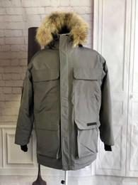 Мужские куртки дизайнер онлайн-Горячей Продажа Канады Мода пальто холодного Предотвращение Mens пальто зима куртка Star Same Style Mens конструктора зимние пальто карманных украшения