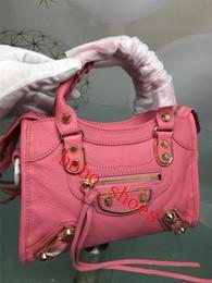 fotos de playa mujer Rebajas bolsos del diseñador de moda de alta calidad bolsos de las señoras de lujo prácticos bolsos de hombro de la cadena de la motocicleta bolsa de tamaño 3 10 colores