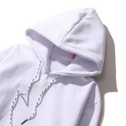 Полоса логотипа онлайн-Новая полосатая толстовка с надписью Classic Stripe Logo Hip Hop Street Sport Мужские женские дизайнерские толстовки Box с логотипом