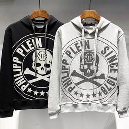 2019 hoodie de rock 2019 homens mulheres designer de moletom com capuz camisola de luxo pp moletom com capuz de rock ao ar livre streetwrar marca camisolas de algodão preto cinza tamanho m 3xl hoodie de rock barato