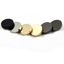 Canada 50 pcs / lot 23 mm de haute qualité robe dames boutons en métal doré pardessus écologique boutons de couture pour costume accessoires textiles Offre
