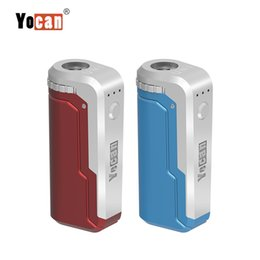 100% Authentic Yocan UNI Mod 650mAh 10s Preriscaldare VV Variabile Volta Regolabile Altezza Diametro Holder Fit All Atomizzatore Preriscaldamento mod mod da