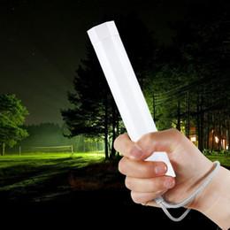 Luzes led tubo de emergência on-line-Q8 Outdoor handheld Camping Luz da barraca 5 modos Portátil LED lanterna tenda equitação luz lâmpada de emergência Ímã pendurado levou tubos